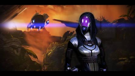 Mass Effect 2 Tali 2 by KarmaleonA