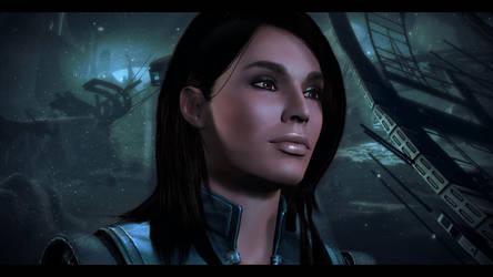 Mass Effect 3 Ashley by KarmaleonA