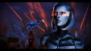 Mass Effect 3 Edi by KarmaleonA