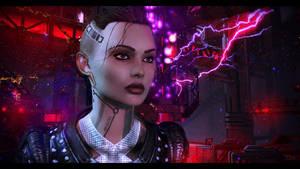 Mass Effect 3 Jack by KarmaleonA