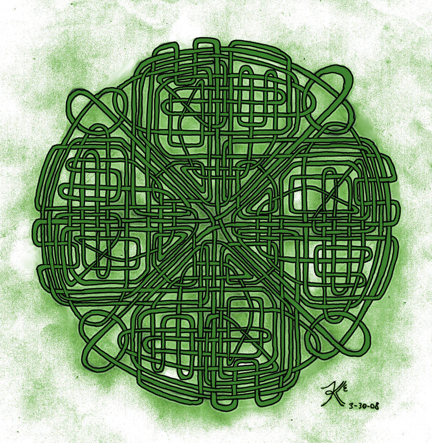 Untitled Celtic Knot 4 by Abadoss