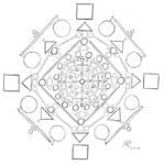 Untitled Mandala 1 by Abadoss