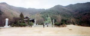 Gagwonsa Temple - Buddha by Abadoss