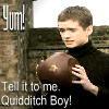 Yummy Quidditch Boy by maupaws
