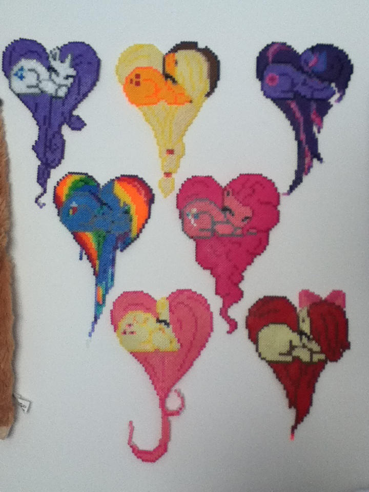 My Little Pony Perler Beads By Vocaloidlovers1234 On Deviantart