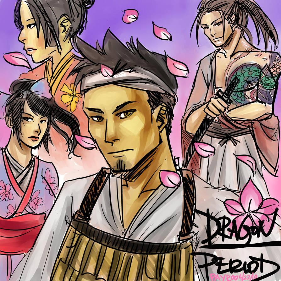 Dragon Period-Feudal Japan AU by PayRoo