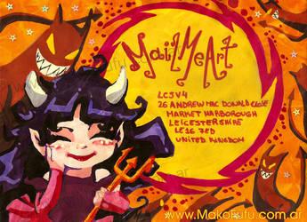 Chibi Demon gal -4Mailmeart- by Mako-Fufu