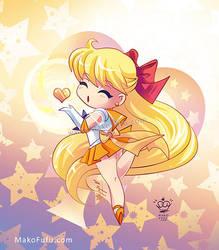 .:Chibi Super Sailor Venus:. by Mako-Fufu