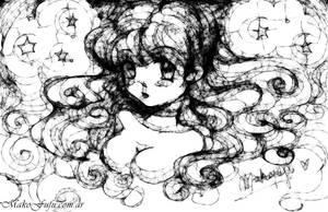 Scribbler Oekaki 1 - HoshiGal by Mako-Fufu