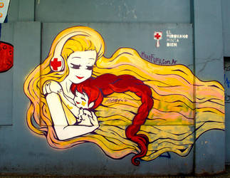 .: Nurse Hug :. by Mako-Fufu