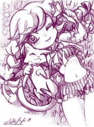 67 KeyWord Commish: Kitty-Kat by Mako-Fufu