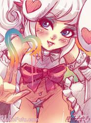 84 KeyWord Commish: RpingrikuGaia+Colors by Mako-Fufu