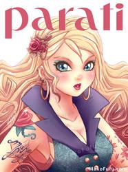 Tattooed Cover Girl _ Para Ti by Mako-Fufu