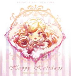 .: Happy Holidays 2012 :. by Mako-Fufu