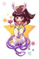 .: Kogal :. SuperEcchi Mascot Commission by Mako-Fufu
