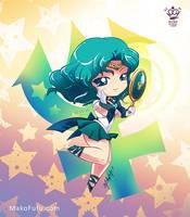 .: Chibi Super Sailor Neptune :. by Mako-Fufu