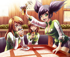 .: Coffee Break :. Commmission by Mako-Fufu