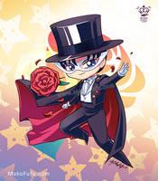 .: Chibi Tuxedo Mask :. by Mako-Fufu