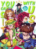 Mean Girls - Street Fighter vs Darkstalkers by Mako-Fufu