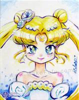 Princess Serenity - Painting 2016 by Mako-Fufu