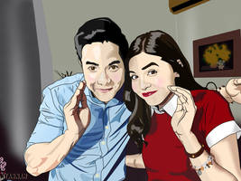 AlDub (Alden and Yaya Dub) by kuronyaan