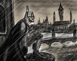 Victorian London Batman by seb211095