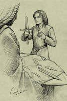 Young Aragorn by ilxwing