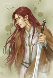 Maedhros by ilxwing