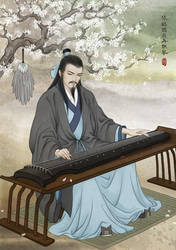ZhuGe Liang at ease by ilxwing