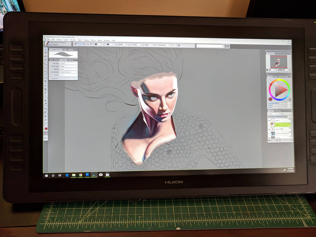 My experience with Huion – Yue Zeng Art Studio