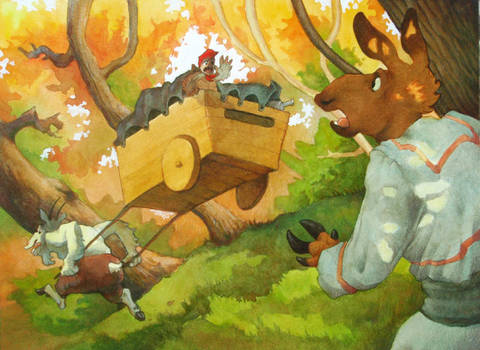 Cart Chase by Rowkey