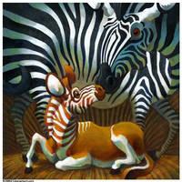 Zebra and Quagga by Rowkey