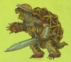 Battle Tortoise! by Rowkey