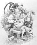 Bard-wolf by Rowkey
