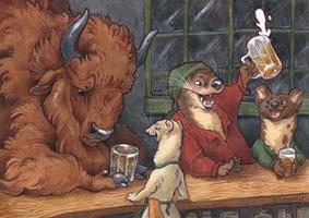 Mustelid Bar by Rowkey