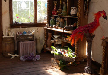 Phoenix Corner: Treetop Creature Shop by Minifanaticus
