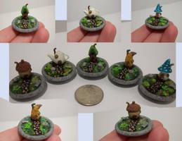 Micro Fairy Gardens by Minifanaticus