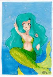 Mermaid by pinkberries