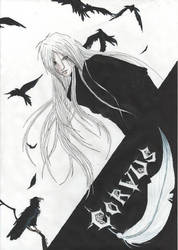 Corvus-crow by psycho-DoOm