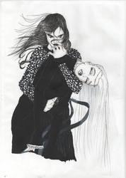 Absinthe and Naamah by psycho-DoOm