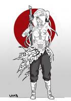 Urban Samurai by Lamb-Charmer
