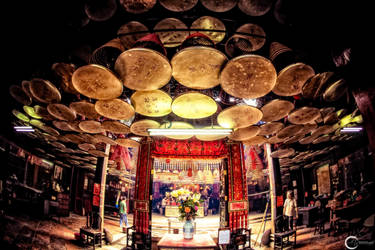 Man Mo Temple - Hong Kong by the-universal-mind