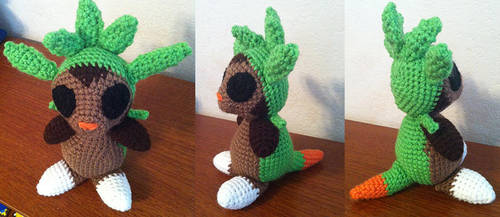 Chespin by theunknownsoul