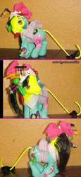 Rainbow cat geisha by LightningSilver-Mana