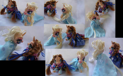 Anna and Elsa Frozen gift set by LightningSilver-Mana