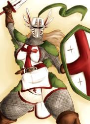 Templar Commander by Pencil-Paladin