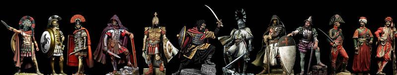 Warriors from around the Mediterranean sea by PHOENIX8341