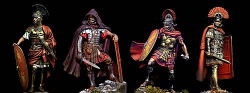 Roman soldiers by PHOENIX8341