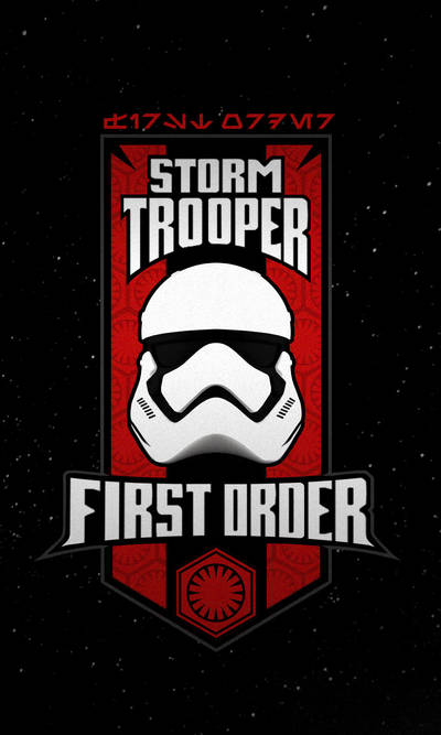 First Order Stormtrooper by PHOENIX8341