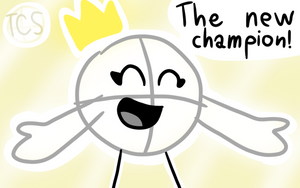 The fifth BFDI Tournament Champion! by The-Creative-Sketchy